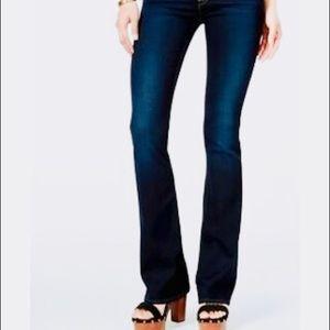 Hudson   Love Midrise Bootcut Darkwash Jeans.
